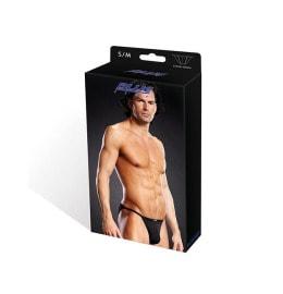 Performance Microfiber String Bikini blk