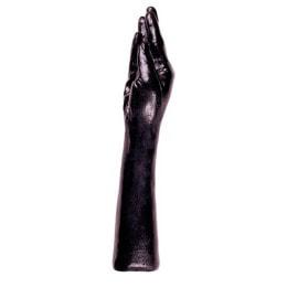 X-MAN Hand m. Arm schwarz 39cm lang
