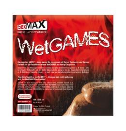 JOYDIVISION SexMAX Wetgames Laken 180x220cm rot
