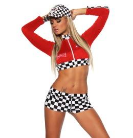 Racing-Hot-Pants-Set