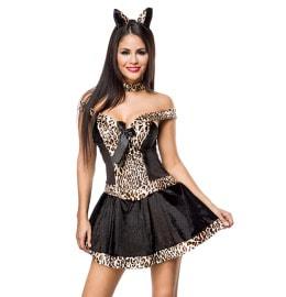 sexy Leopardenkostüm