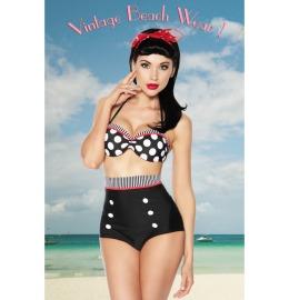 Vintage-Push-Up-Bikini