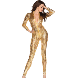 Overall der Stars in gold