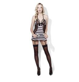 Sexy Minikleid - Häftling