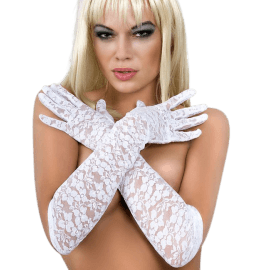 weiß Gloria Lace Gloves
