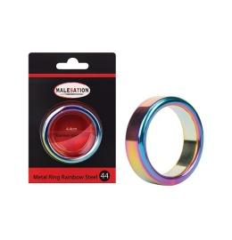 Metal Ring Rainbow Steel 44