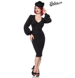elegantes Retro Kleid schwarz