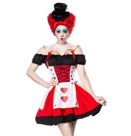 Sexy Herz Königin Kostüm mit Hut